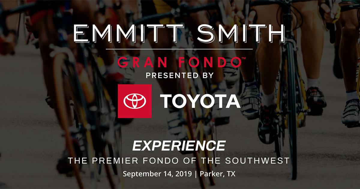 Emmitt Smith Gran Fondo 2019 - September 14, 2019 | Parker, TX